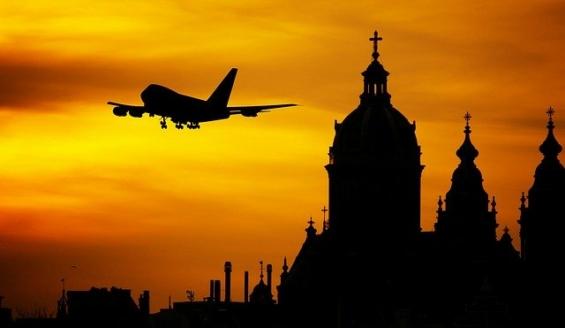 海外出張飛行機